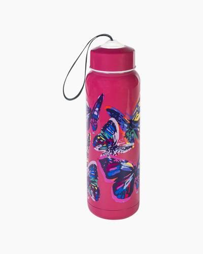 Butterfly Flutter Pink Water Bottle