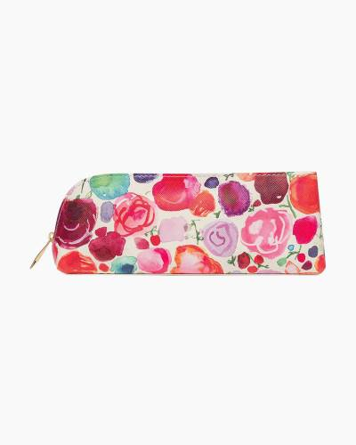 Floral Pencil Case and Accessories Set
