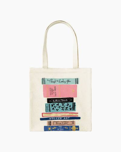 Stack of Classics Canvas Tote
