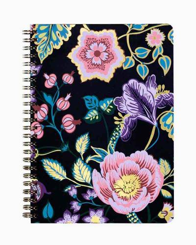 Vines Floral Mini Notebook with Pocket