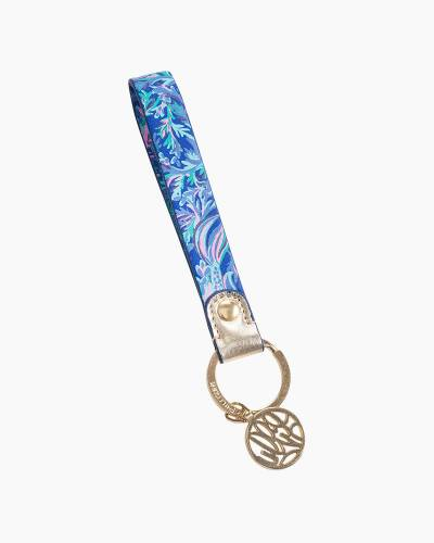Swimming in Circles Strap Keychain