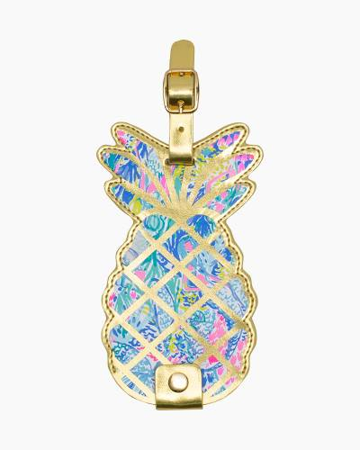 Mermaids Cove Pineapple Luggage Tag
