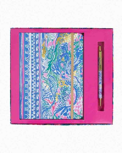 Mermaids Cove Journal with Pen