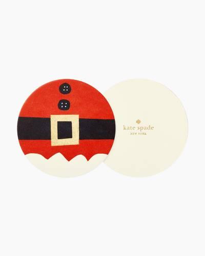Santa Suit Coaster Set