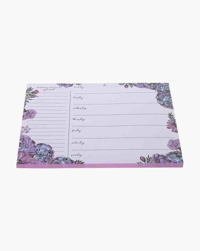 Lavender Meadow Weekly To-Do Notepad