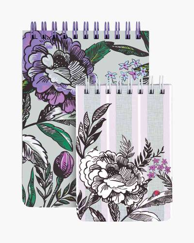 Lavender Meadow Spiral Notepad Set