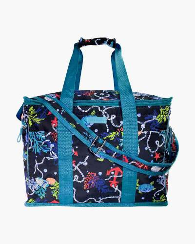 Spring Tide Navy Insulated Cooler Bag