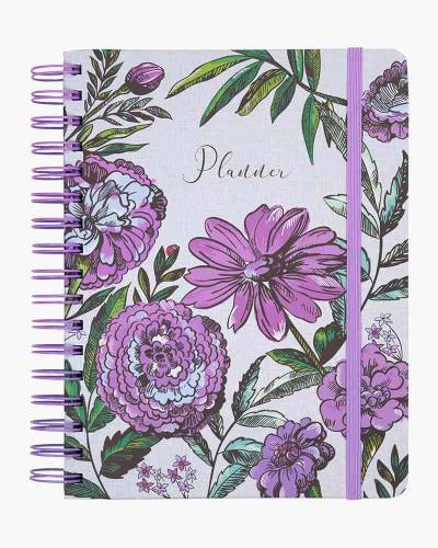 Lavender Meadow 12 Month Large Planner