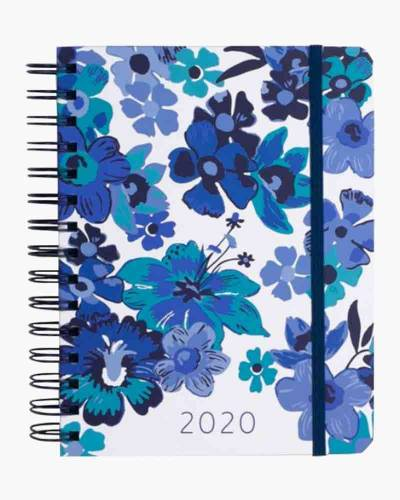 Moonlight Garden Tonal Medium 17 Month Planner