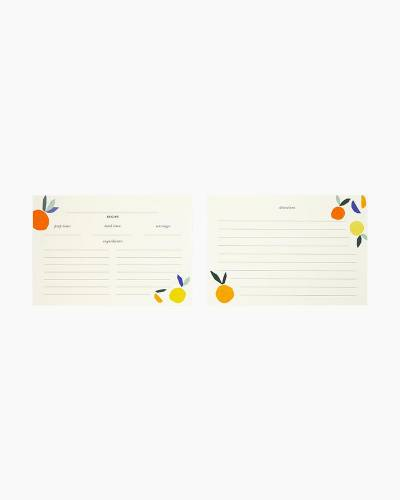 Citrus Twist Recipe Card Refill Pack