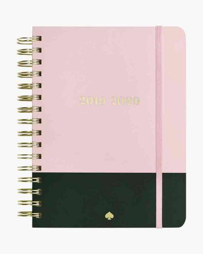 Large Spiral 17 Month Planner in Color Dip