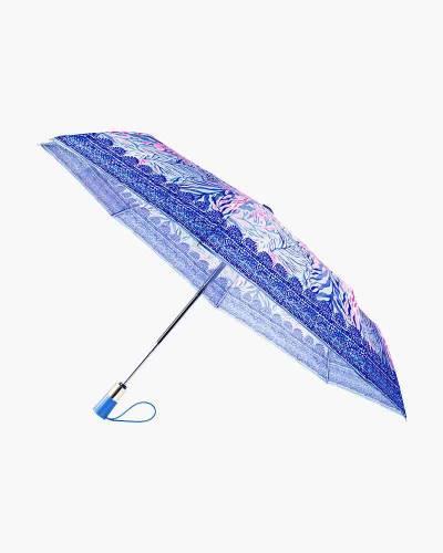 Kaleidoscope Coral Travel Umbrella