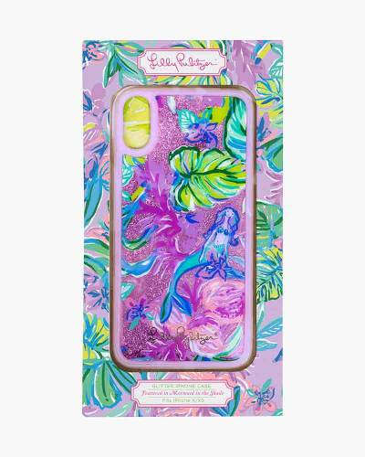 Mermaid in the Shade Glitter Bomb Case for iPhone X/XS