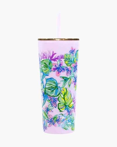 Mermaid in the Shade Tumbler with Straw