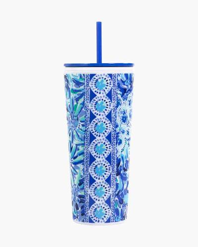 High Maintenance Tumbler with Straw
