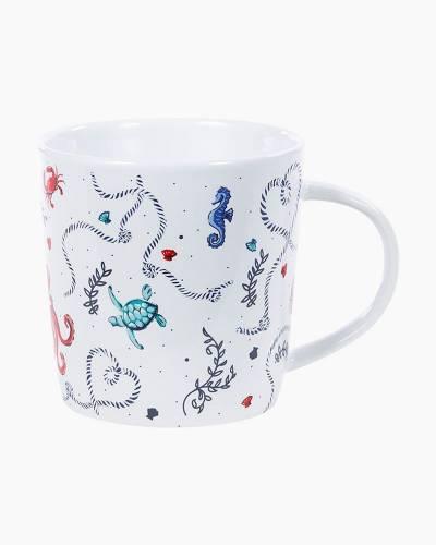 Ceramic Mug in Sea Life