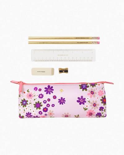 Pacific Petals Pencil Case