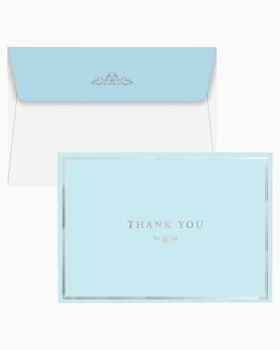 Thank You Notes - Blue Elegance