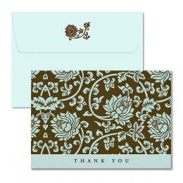 Peter Pauper Press Thank You Notes - Acadian Tapestry