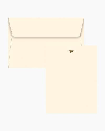 Stationery Set - Butterflies (Cream Envelopes)