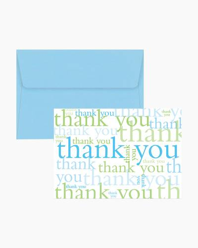 Thank You Notes - Many Thanks