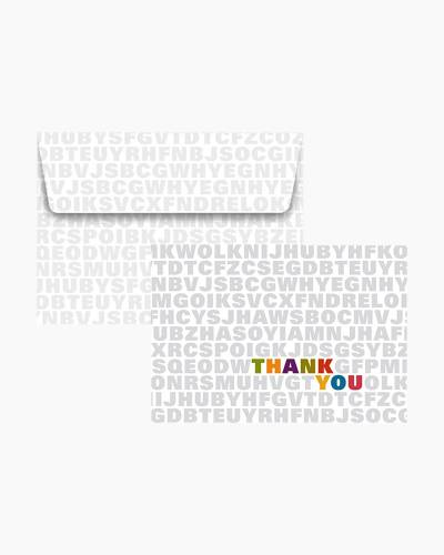 Thank You Notes - Alphabet Soup