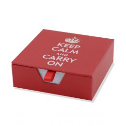 Peter Pauper Press Boxed Desk Notes - Keep Calm and Carry On