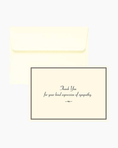 Thank You Notes - Sympathy