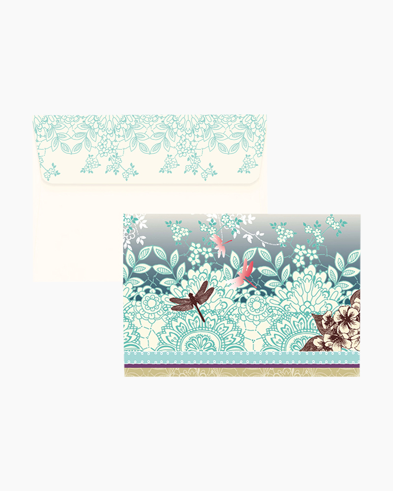 Peter Pauper Press Note Cards - Dragonfly | The Paper Store