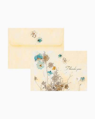 Thank You Notes - Watercolors Flowers
