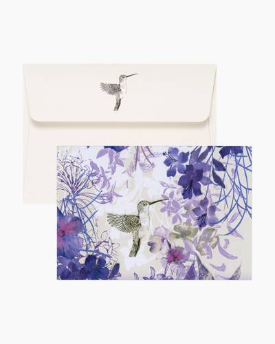 Hummingbird Boxed Note Cards