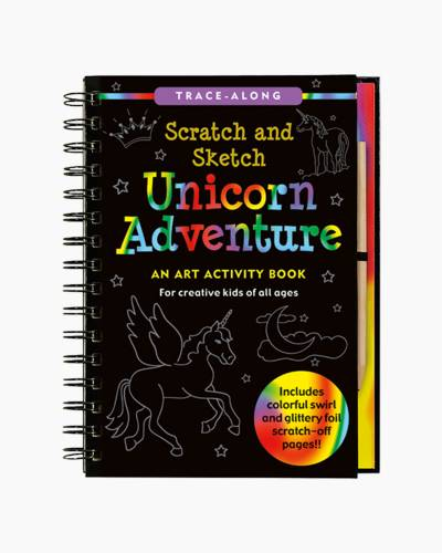 Unicorn Scratch and Sketch