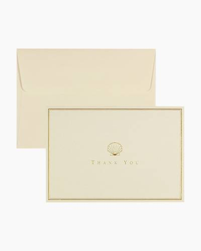Scallop Thank You Notes