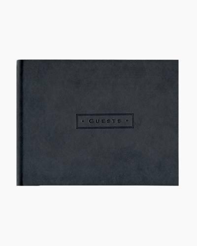 Classic Black Guest Book