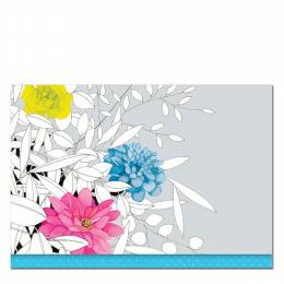 Peter Pauper Press Modern Floral Note Card