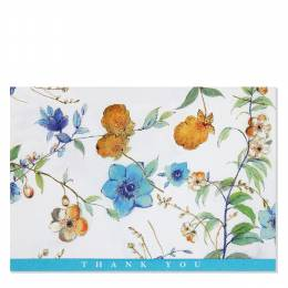 Peter Pauper Press Asian Floral Thank You Notes