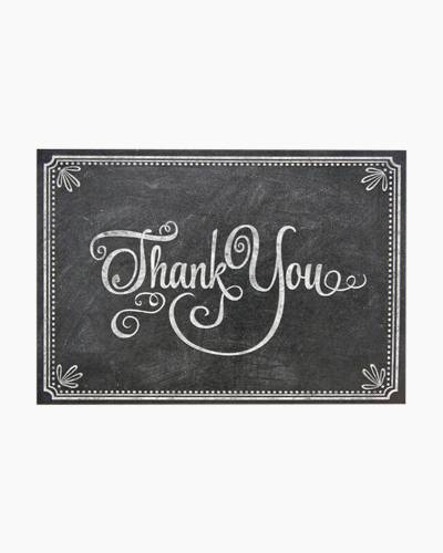 Chalkboard Thank You Notes