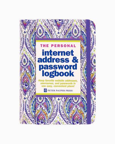 Silk Road Internet Address and Password Log Book