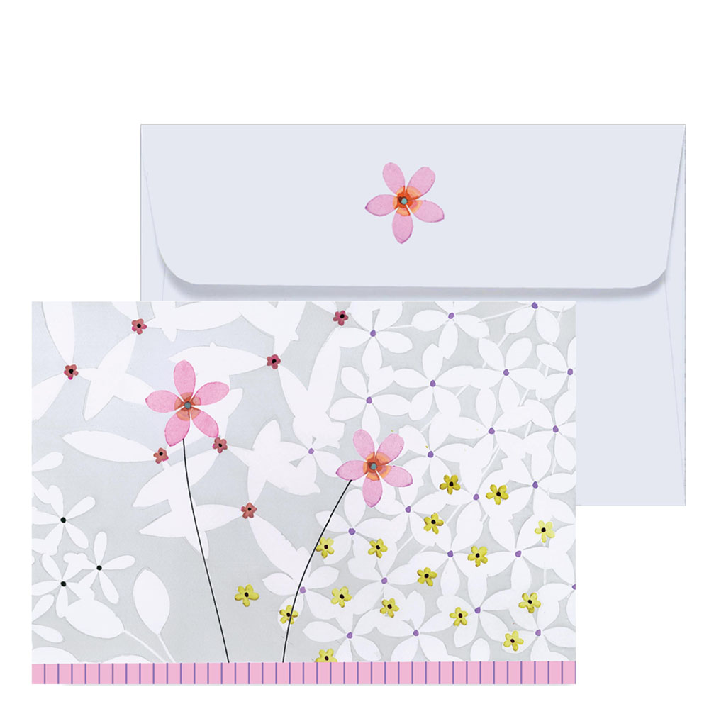 Peter Pauper Press Jardin de Fleurs Note Cards (Set of 14)
