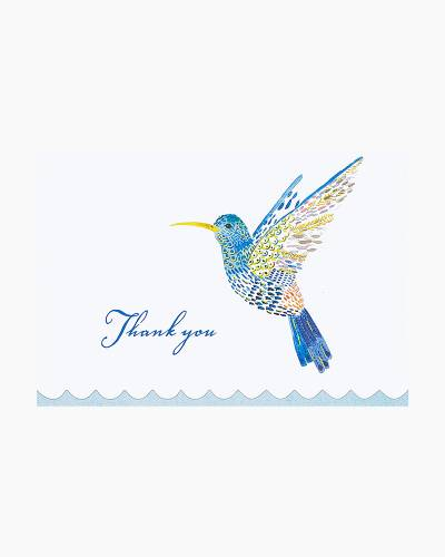 Watercolor Hummingbird Thank You Notes