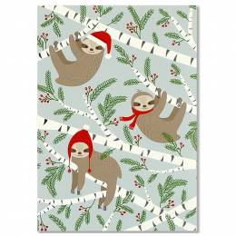 Peter Pauper Press Merry Sloths Boxed Small Holiday Cards