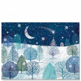 Peter Pauper Press A Midnight Clear Boxed Deluxe Holiday Cards