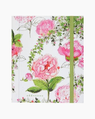 Rose Garden Large Address Book