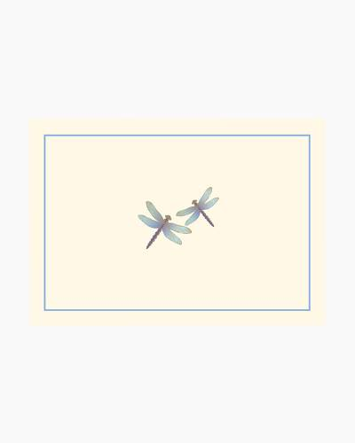 Blue Dragonflies Boxed Note Cards