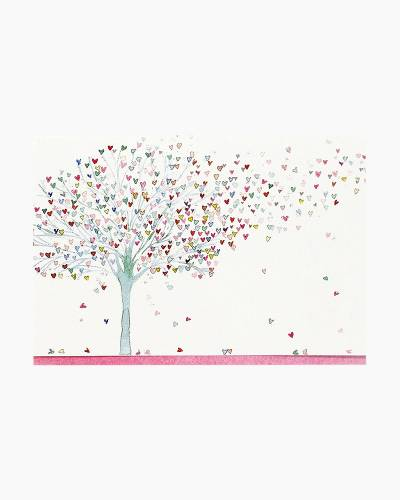 Tree of Hearts Blank Note Cards