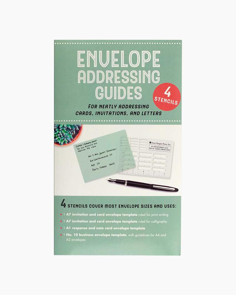 Letter Addressing Stencil.Envelope Addressing Guides