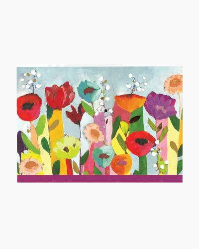 Brilliant Floral Note Cards