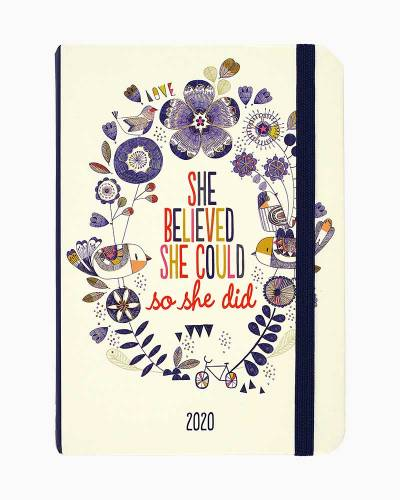 She Believed She Could 2020 Weekly Planner