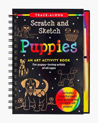 Scratch and Sketch Puppies (Trace Along)