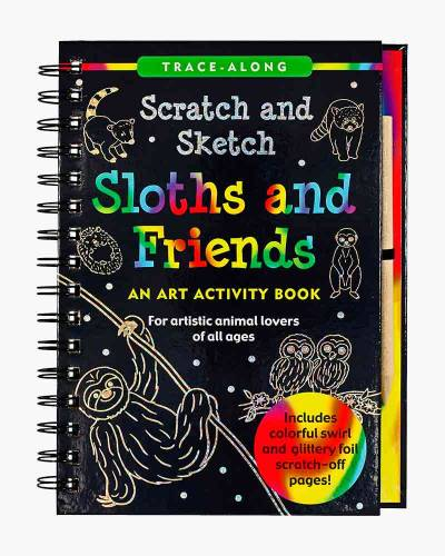 Scratch and Sketch Sloths and Friends (Trace Along)